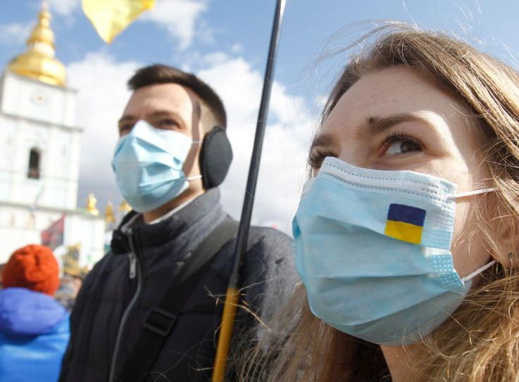 Онлайн статистика коронавируса Covid-19 в Украине