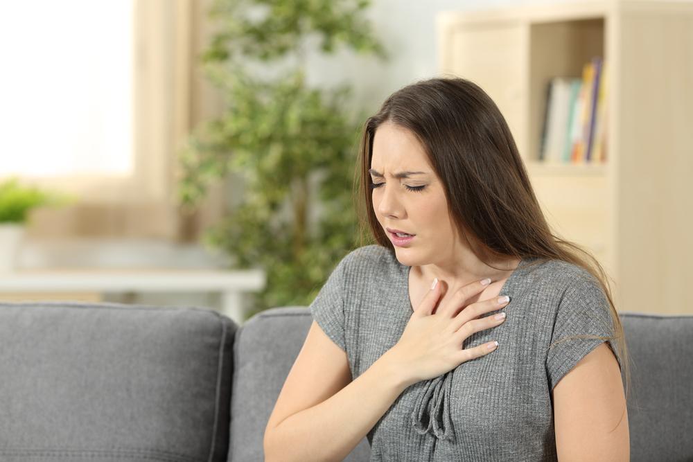 затрудненное дыхание при коронавирусе