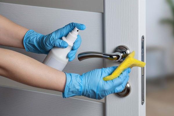 dezinfekcija dvernyh ruchek