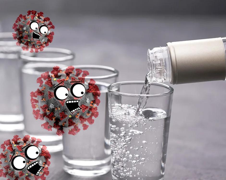 Можно или нет принимать алкоголь при коронавирусе